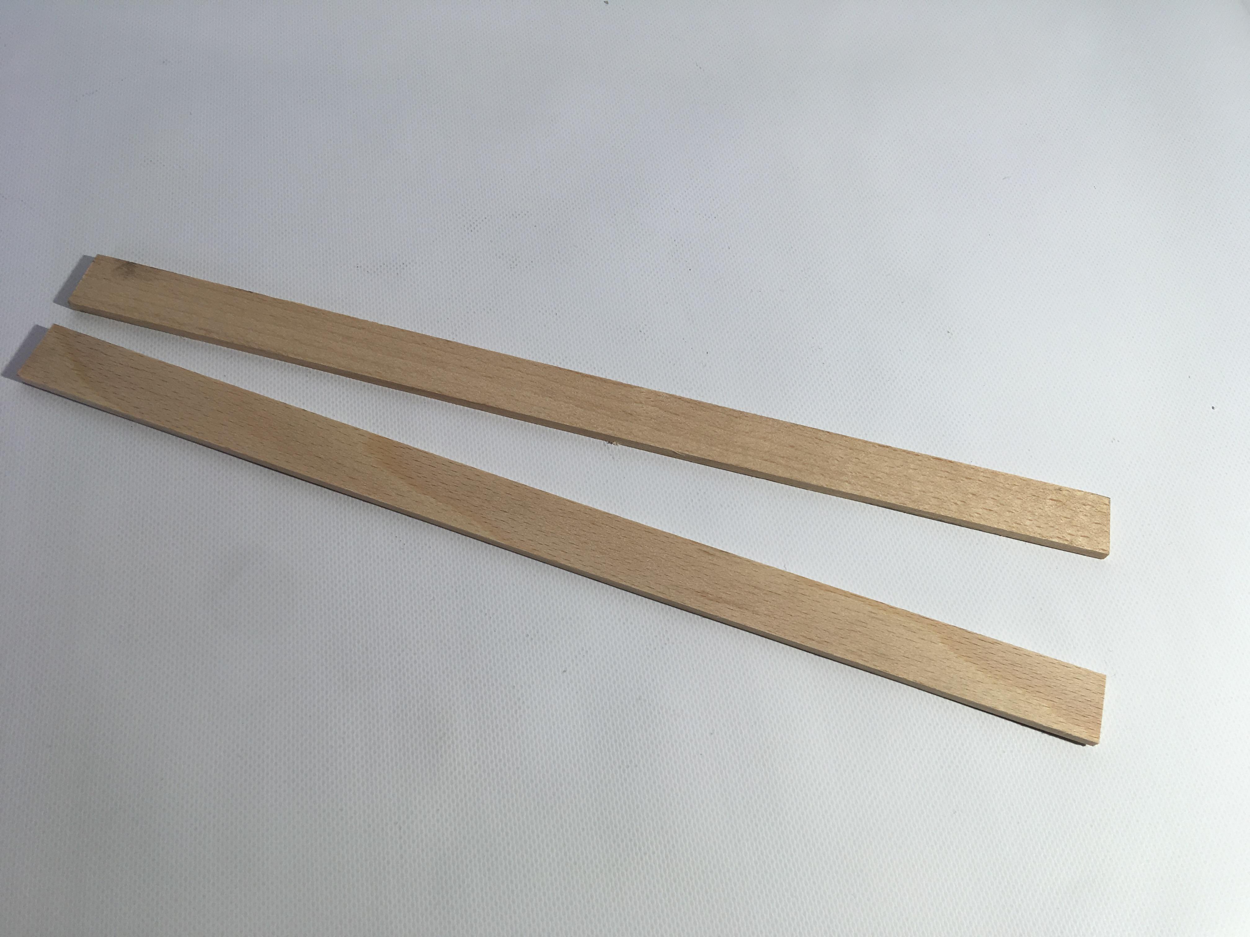 Dřevěné tyčinky set 2 ks k míchání 26 x 1,5cm